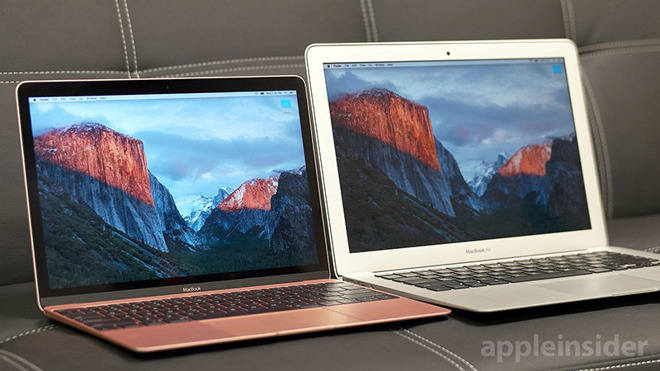 new macbook comparisons
